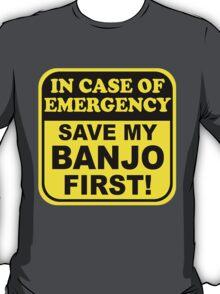 Banjo Emergency T-Shirt