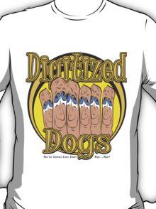 Digitized Dogs T-Shirt