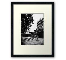 Poststraße / Ephraimpalais Framed Print