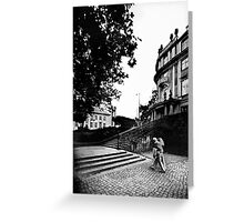 Poststraße / Ephraimpalais Greeting Card