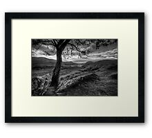 View on the Hill Framed Print