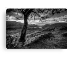 View on the Hill Canvas Print