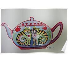 Little teapot Poster
