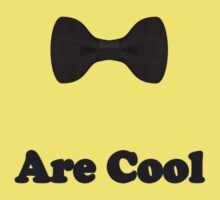 Black Bow Ties Are Cool T-Shirt Clothing Sticker Kids Tee