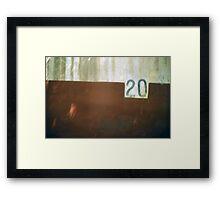 Australian Twenty Bucks Framed Print