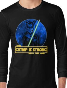Catnip Is Strong With This One Long Sleeve T-Shirt