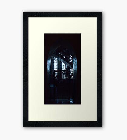 Secret Stairs Framed Print