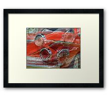 Dodge Darts Framed Print