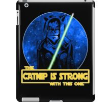 Catnip Is Strong With This One iPad Case/Skin