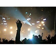 Crowd @ Glastonbury 2010: Groove Armada (III) Photographic Print