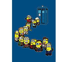 Doc Minion Line Up Photographic Print