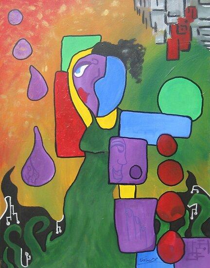 Purple Droppers by Chris DeRoch