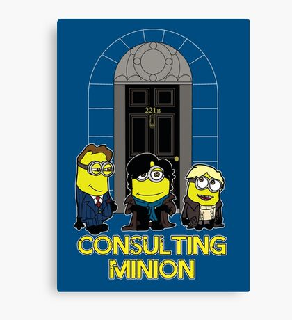 The Worlds only Consulting Minion Canvas Print