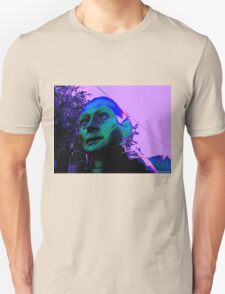 Hugo, Man of a Thousand Faces, Pinkened T-Shirt