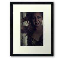 My Twisted Thoughts Framed Print