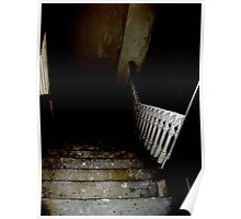 the bottom of the stairs Poster