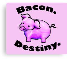 Bacon Destiny Canvas Print