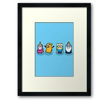Minions Time Framed Print
