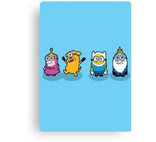 Minions Time Canvas Print