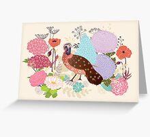 Antique Garden Greeting Card