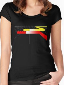 Building Blocks and Racing Cars Women's Fitted Scoop T-Shirt