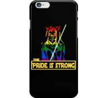 The Pride Is Strong (With Us All) iPhone Case/Skin