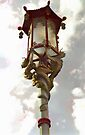 Street Lamp Grant Avenue San Francisco by Barbara Wyeth