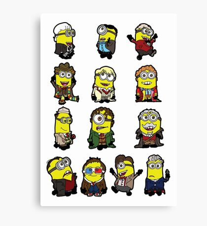 The Doctors Minion Canvas Print