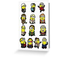 The Doctors Minion Greeting Card