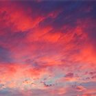 painted sunset OBX by Jacque Gates