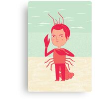 Lobster Boy Canvas Print