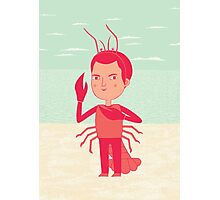 Lobster Boy Photographic Print
