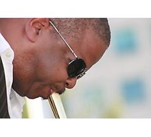 Terence Blanchard - DJF - 2010 -  repositiong sound Photographic Print