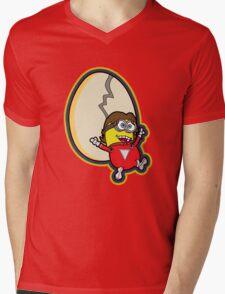Mork and Minion Mens V-Neck T-Shirt