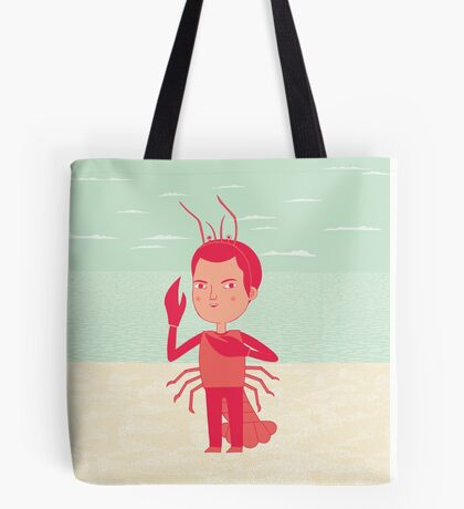 Lobster Boy Tote Bag