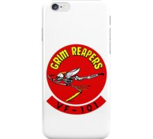 VF-101 Grim Reapers Logo iPhone Case/Skin
