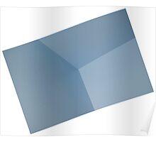 Blue CORNER Poster