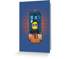 Doc Minion Generation 10 Greeting Card