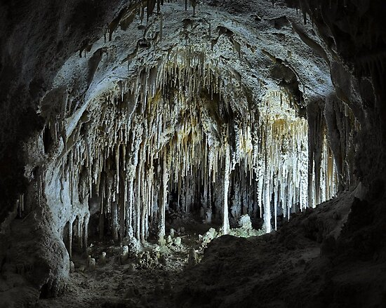The Dollhouse - Carlsbad Caverns by Stephen Vecchiotti