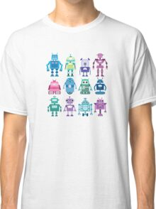 Robot Grid  Classic T-Shirt