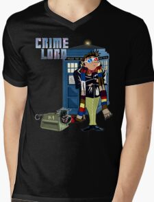 Crime Lord Mens V-Neck T-Shirt