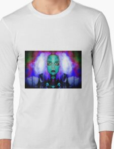 Wanting RELIEF : drifting into the clouds Long Sleeve T-Shirt