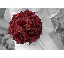 Wedding Bouquet Photographic Print