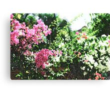 Bunches of Color (Brush Strokes) Canvas Print