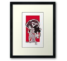 the evil within  Framed Print