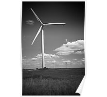 """Wind Energy"" - Edgeley, North Dakota  Poster"