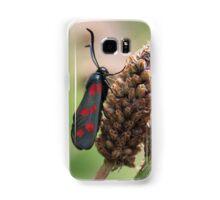 Burnet Moth Samsung Galaxy Case/Skin