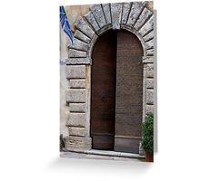 Montepulciano Keystone Greeting Card
