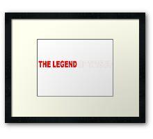 Legend of Tetsuo-Mad Men Framed Print