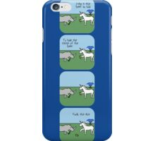 Ice Cold Beer - Horned Warrior Friends iPhone Case/Skin